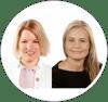 Anu Suominen ja Kristina Borg
