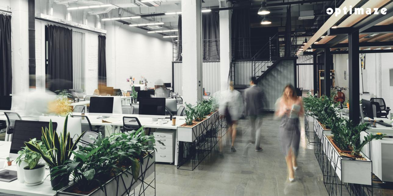 Blurred-office-optimaze