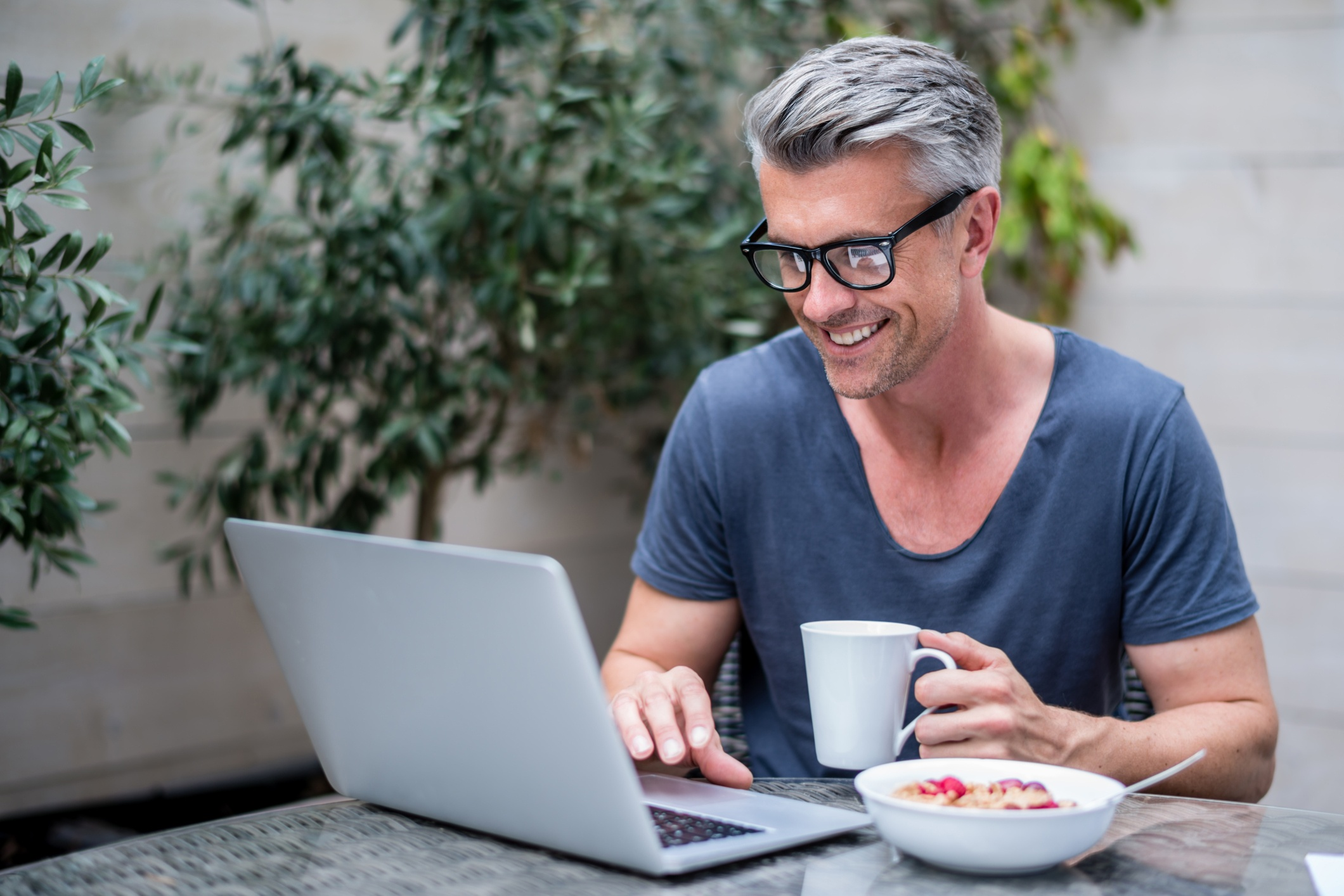 Technological enablers are important for flexible work, allowing  working from home or elsewhere, when it is most convenient.