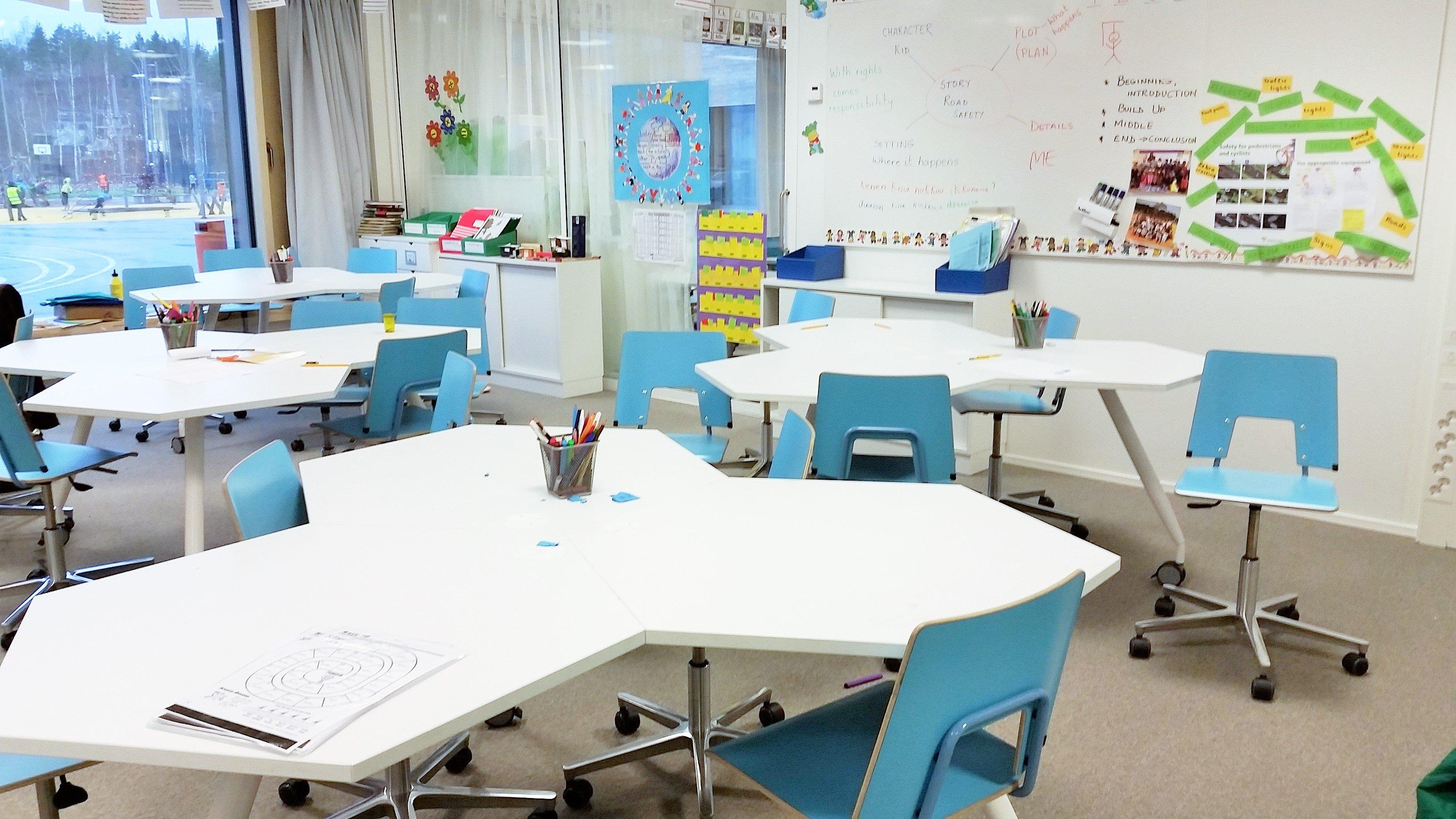 Opinmäki on oppimiskeskus, jossa kantavana ajatuksena on uusi tapa oppia ja toimia yhdessä ja yhteisissä tiloissa.