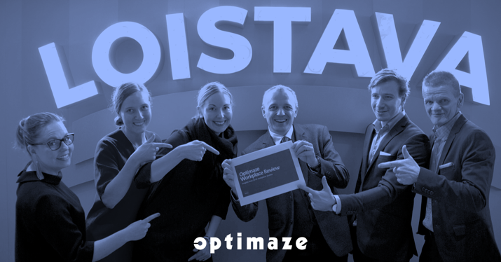 Our amazing Optimaze Workplace Solutions Team!