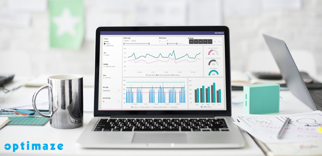 In Optimaze Worksense the data is presented in an easy and understandable way for you to make informed decisions on the workplace.