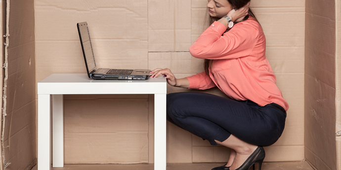 For some, working from home can be uncomfortable due to bad ergonomics and poor digital tools and connections.