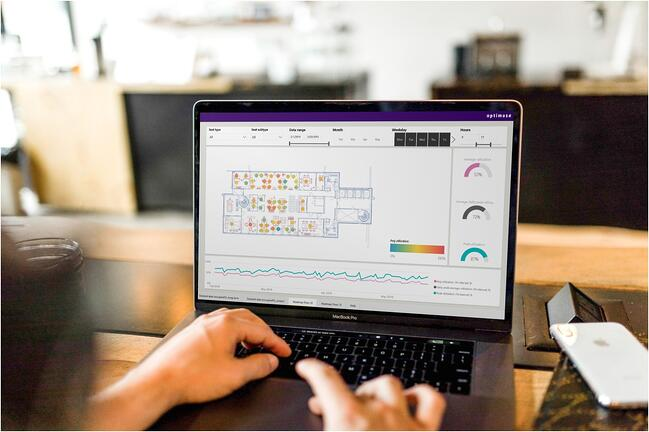Analyze your office space usage with real time data - and get  fast, visual and interactive reporting for workplace management.