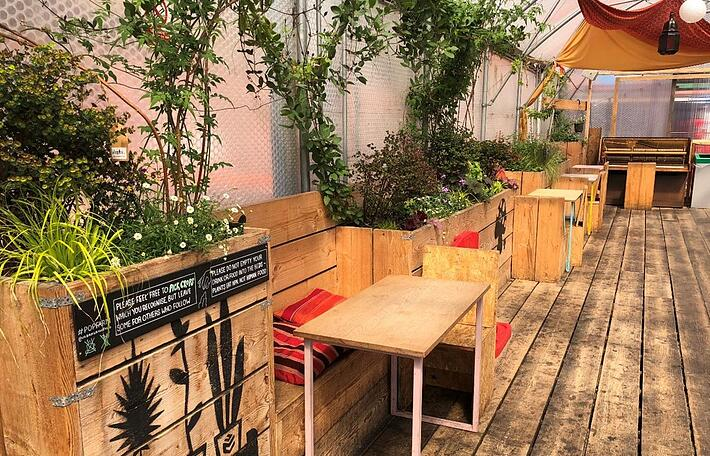 Pop Brixton is a temporary project that has turned disused land into a creative space for local, independent businesses in South London.